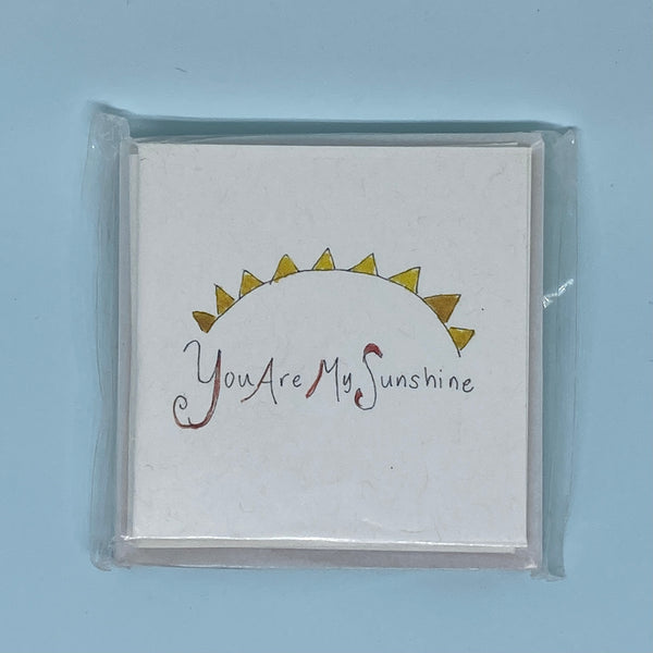 You Are My Sunshine Mini Card 5 Pack