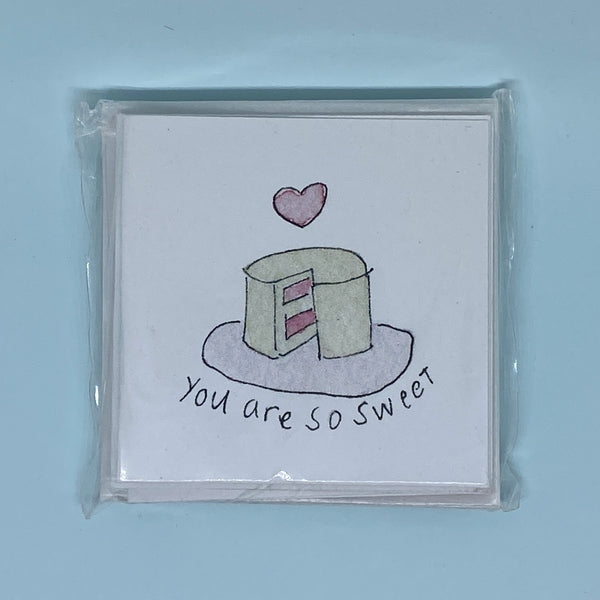You Are So Sweet Mini Card 5 Pack