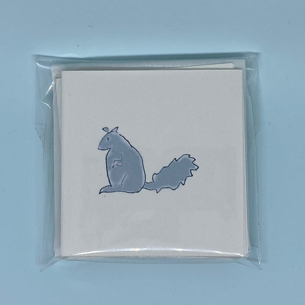 Squirrel Mini Card 5 Pack