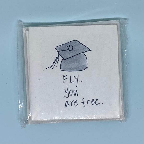 Fly you are free Card 5 Pack