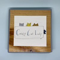 Crazy Cat Lady Tiny Print