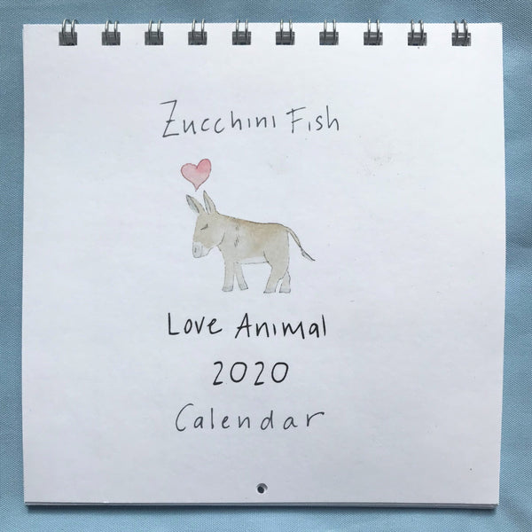 2020 Love Animal Wall Calendar
