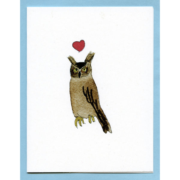 Great-Horned Owl Love