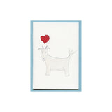 Goat Love Enclosure Card