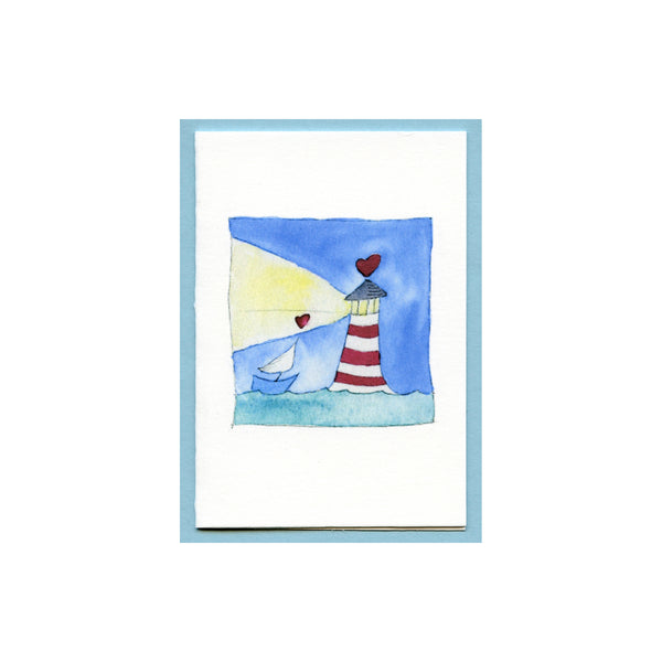 Light House Love Enclosure Card