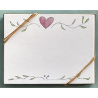Heart Thank You Notecard Set