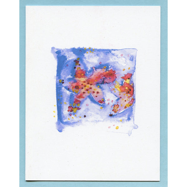Watercolor Star Fish