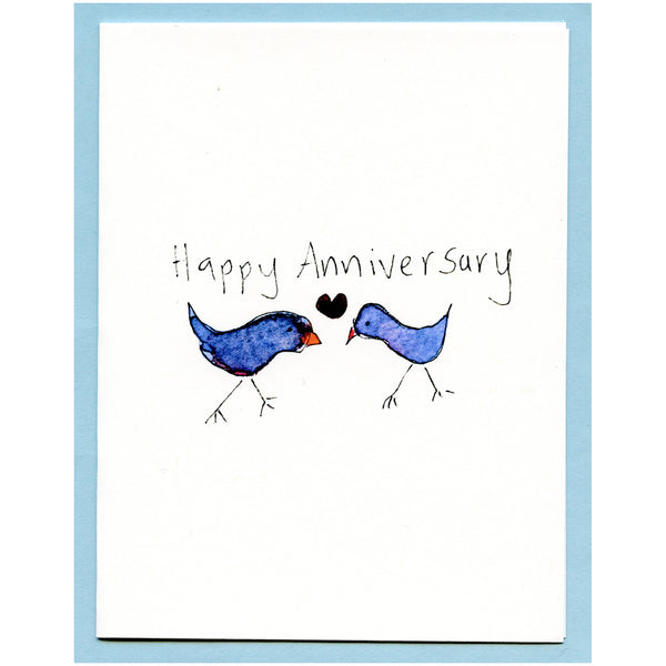 Happy Anniversary Blue Birds