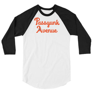 Open image in slideshow, 3/4 Sleeve Passyunk Avenue Baseball Tee - Flyers Orange