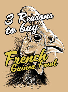 3 Reasons to buy French Guinea Fowl Online