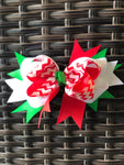 Chevron Christmas Bow