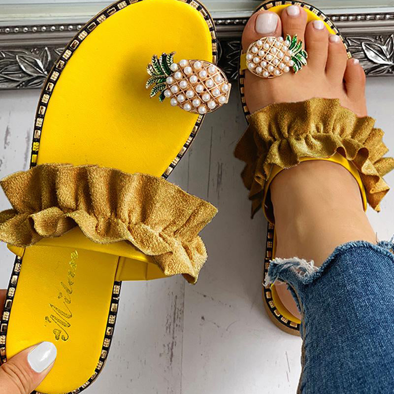 Pineapple Upside Down Shoes