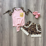 Cheetah & Pink with Bow