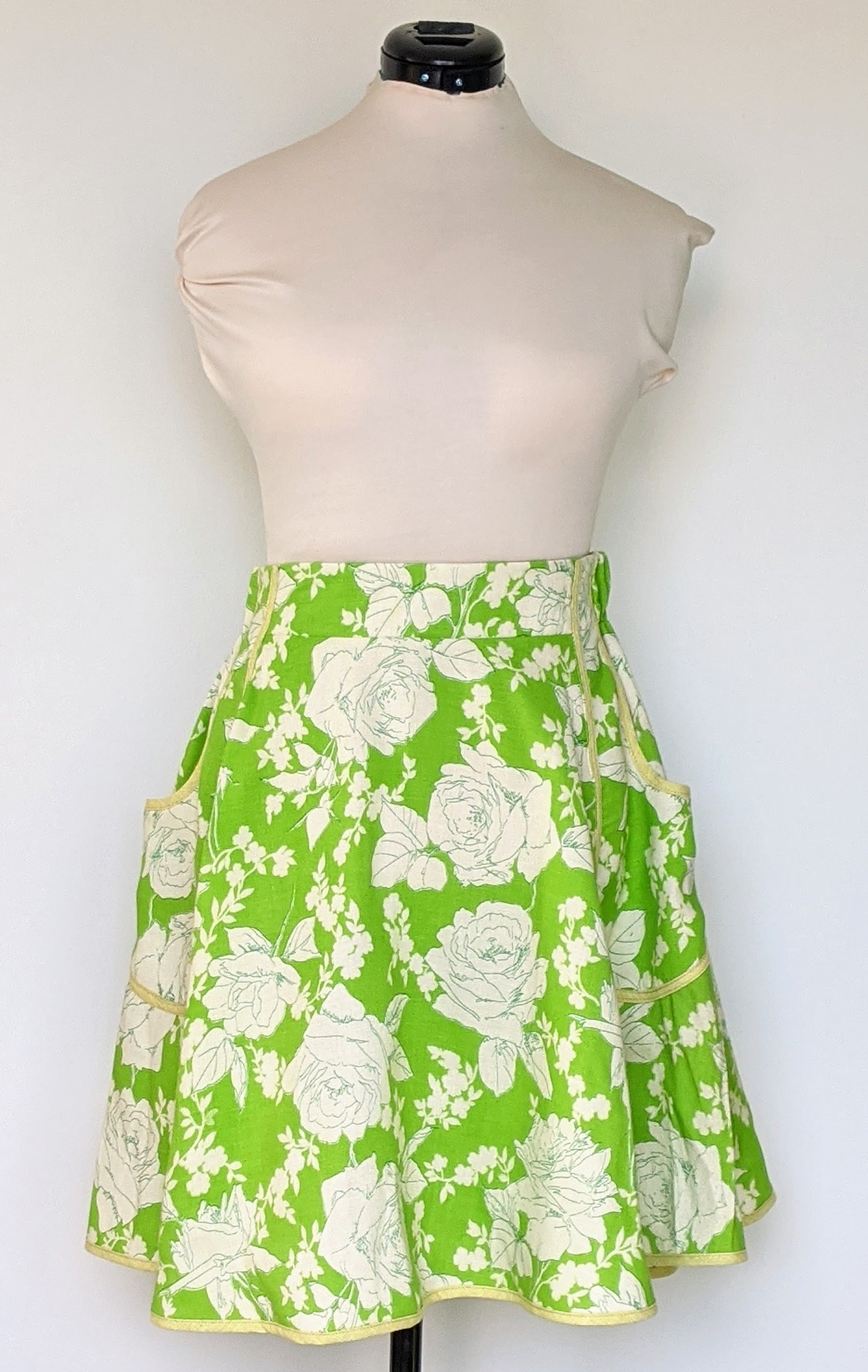 Gin & Tonic Vintage Fabric Skirt