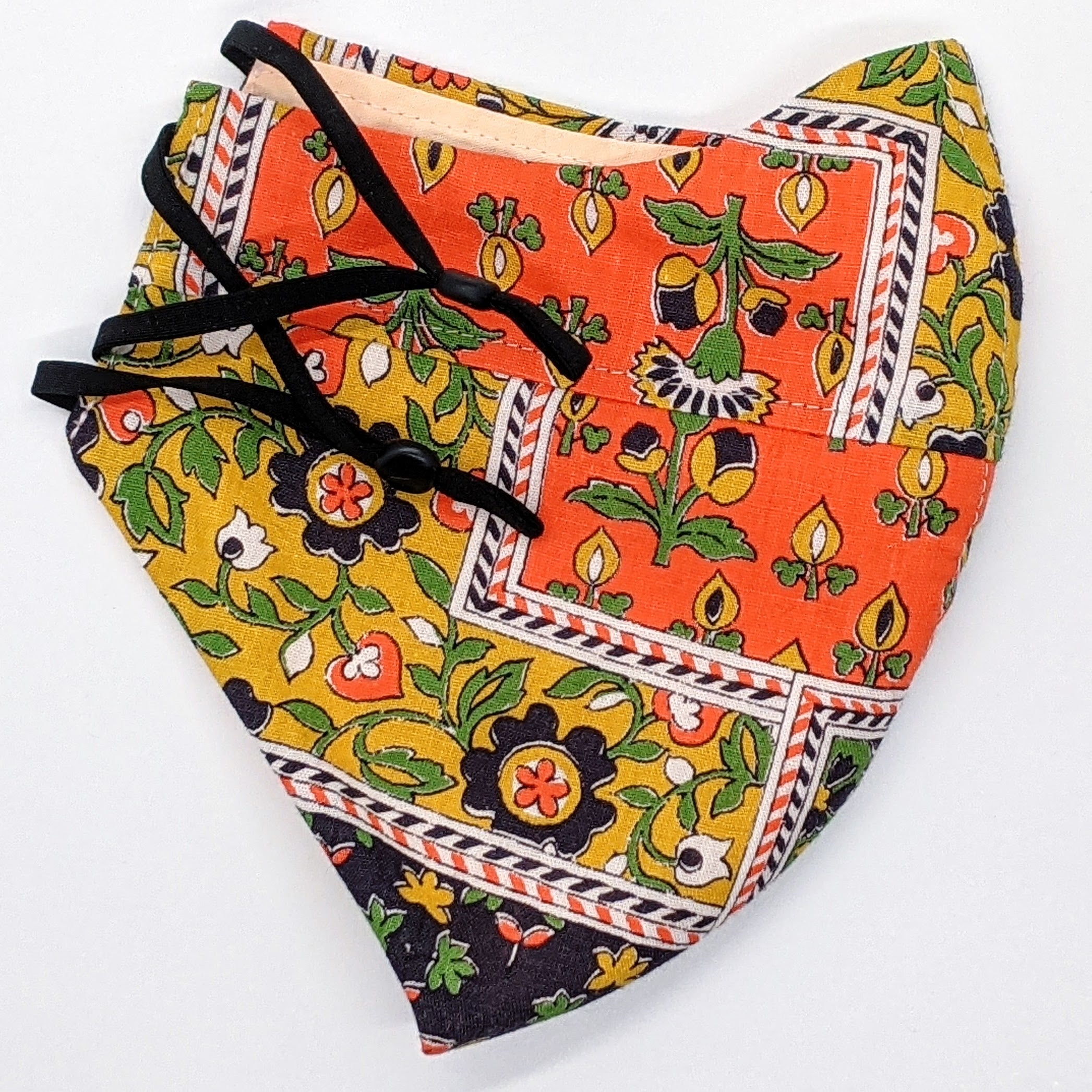 Patchwork Vintage Fabric Mask