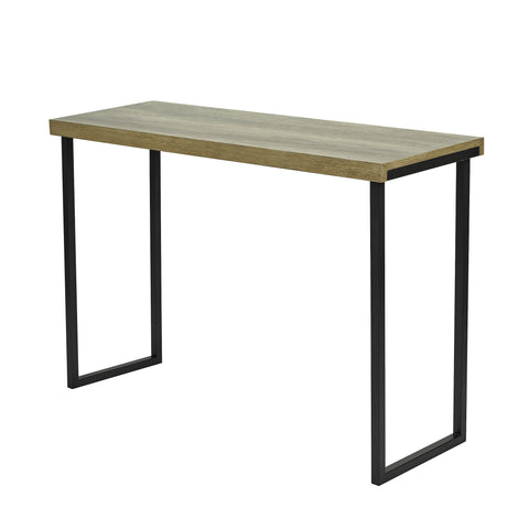 där Lighting 001AST002 Aston Console Table Oak Style Veneer