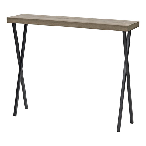 där Lighting 001DAT002 Data Console Table Oak Style Veneer