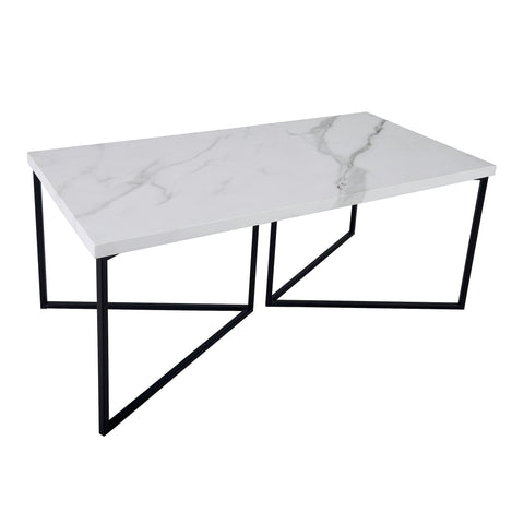 där Lighting 001FOT002 Fotini Coffee Table White Marble