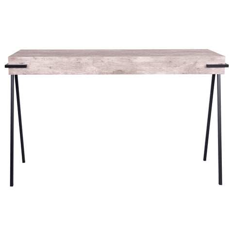 där Lighting 001ROY001 Royan Console Table Concrete Effect