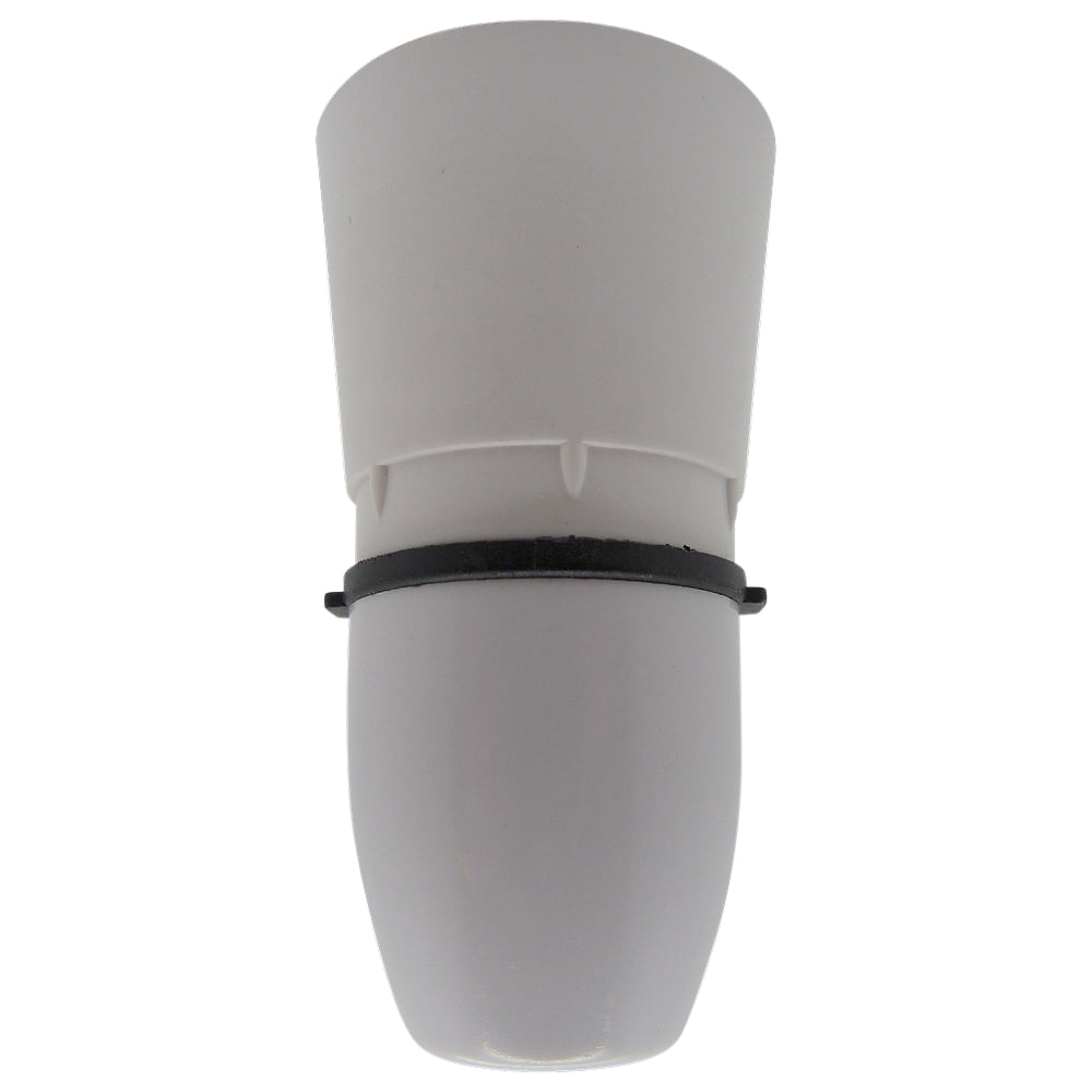 "BC - B22 Lampholder ½"" Entry Unswitched Plastic"