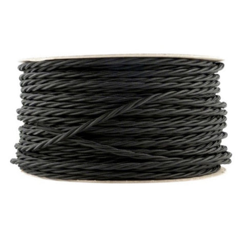 3 Core Twisted Braided Green Lighting Flex 0.75mm
