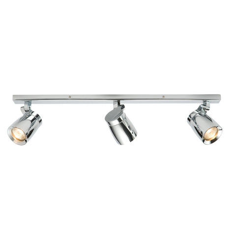 Endon Lighting 39168 Knight 3 Light Polished Chrome Spotlight