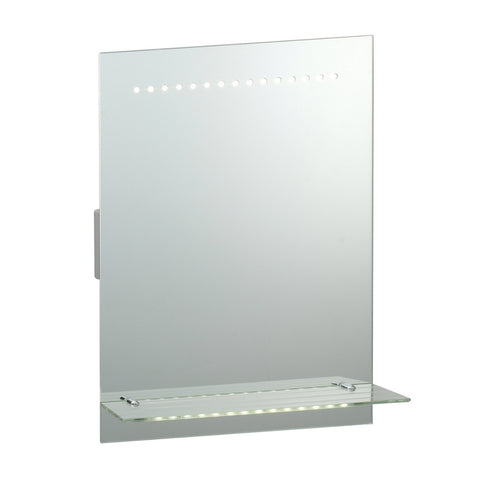 Endon Lighting 39237 Omega LED Mirror With Shaver Socket