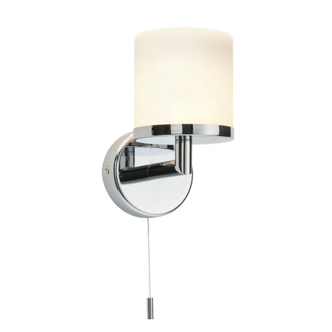 Endon Lighting 39608 Lipco Single Light Polished Chrome Switched Wall light