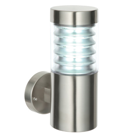 Endon Lighting 49909 Equinox Marine Grade Stainless Steel Outdoor Wall Light