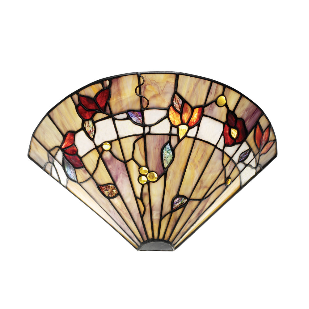 Bernwood Single Light Tiffany Wall Light