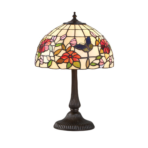 Butterfly Small Tiffany Table Lamp