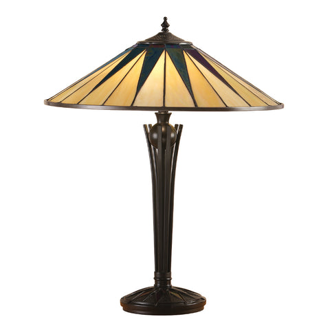 Dark Star Large Tiffany Table Lamp