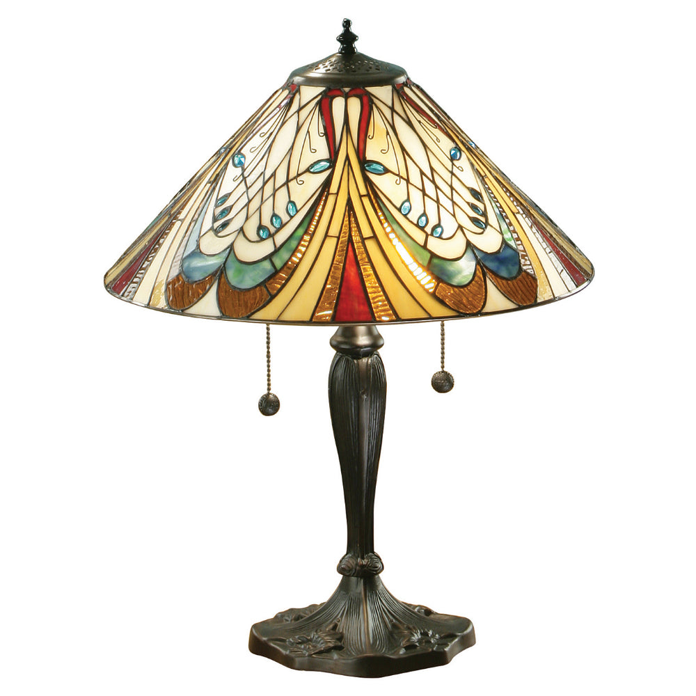 Hector Medium Tiffany Table Lamp