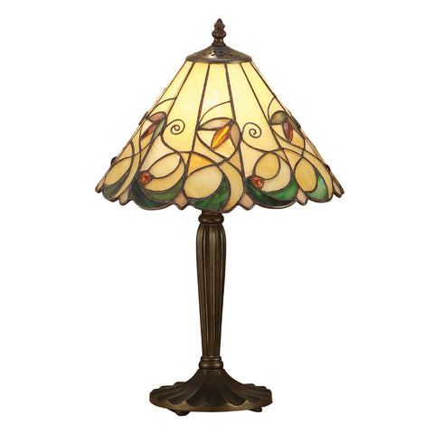 Jamelia Small Tiffany Table Lamp