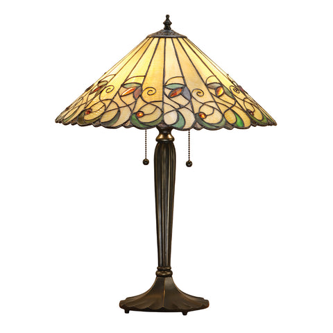 Jamelia Medium Tiffany Table Lamp