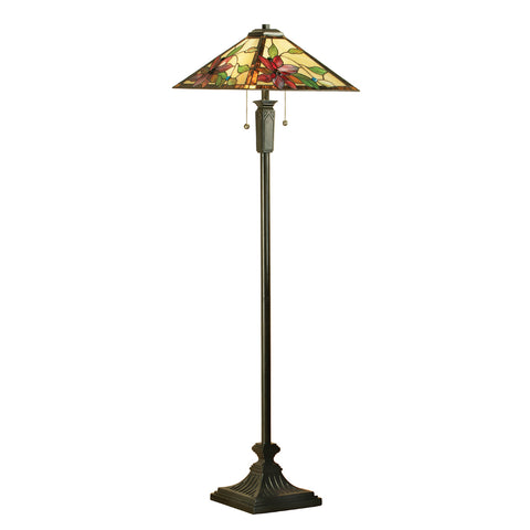 Lelani Tiffany Floor Lamp