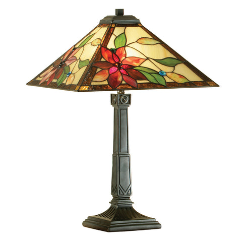 Lelani Medium Tiffany Table Lamp