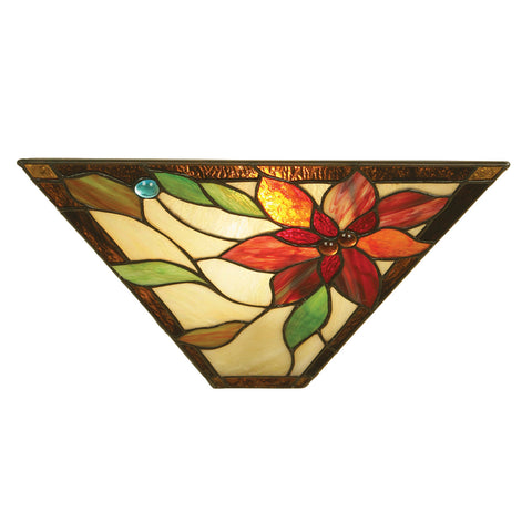 Lelani Single Light Tiffany Wall Light