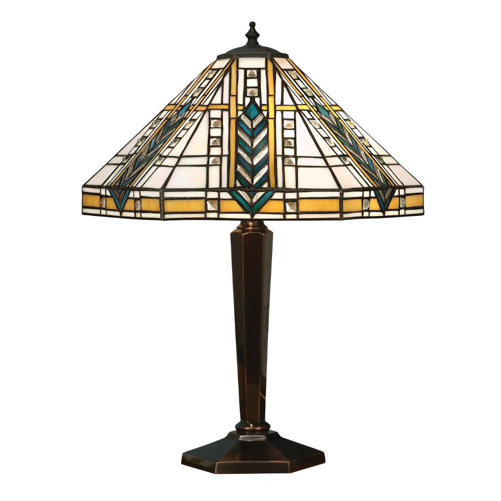 Lloyd Medium Tiffany Table Lamp