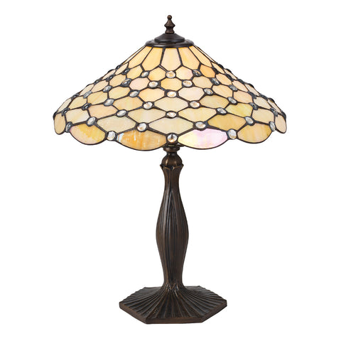 Pearl Medium Tiffany Table Lamp