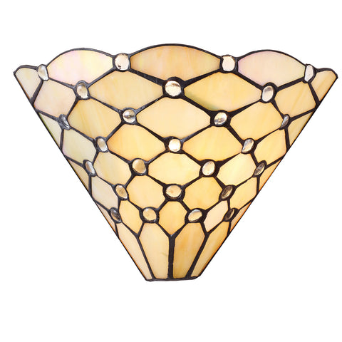 Pearl Single Light Tiffany Wall Light