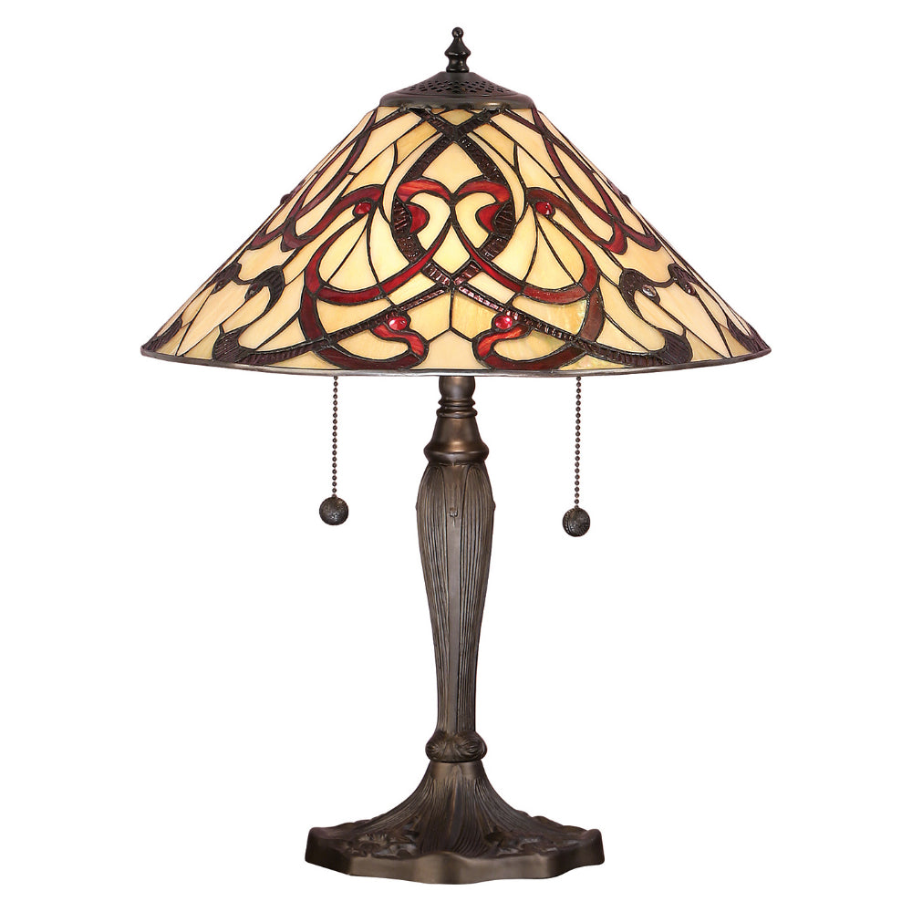 Ruban Medium Tiffany Table Lamp