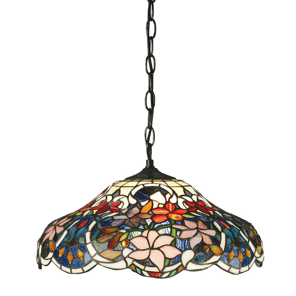 Sullivan Medium Single Light Tiffany Pendant Ceiling Light