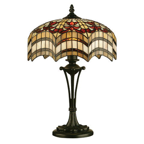 Vesta small tiffany table lamp
