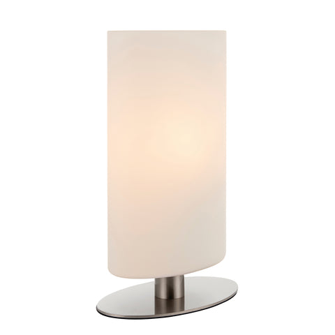 Endon Lighting 68492 Palmer Touch Table Lamp Satin Nickel Finish