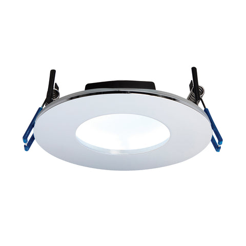 Saxby Lighting 69885 OrbitalPLUS IP65 LED Recessed Light Chrome Finish Cool White