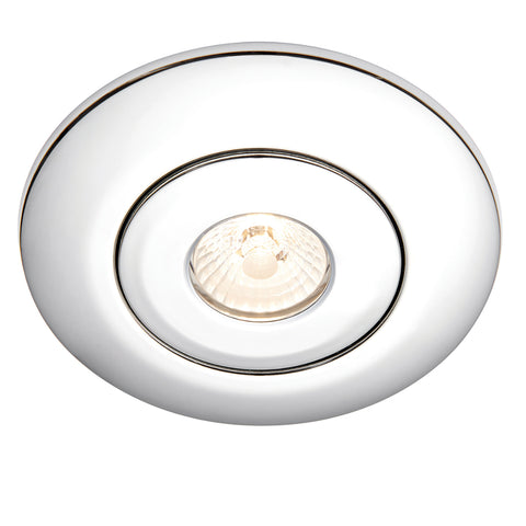 Saxby Lighting 70418 Converse Bezel Recessed Downlight Chrome Finish