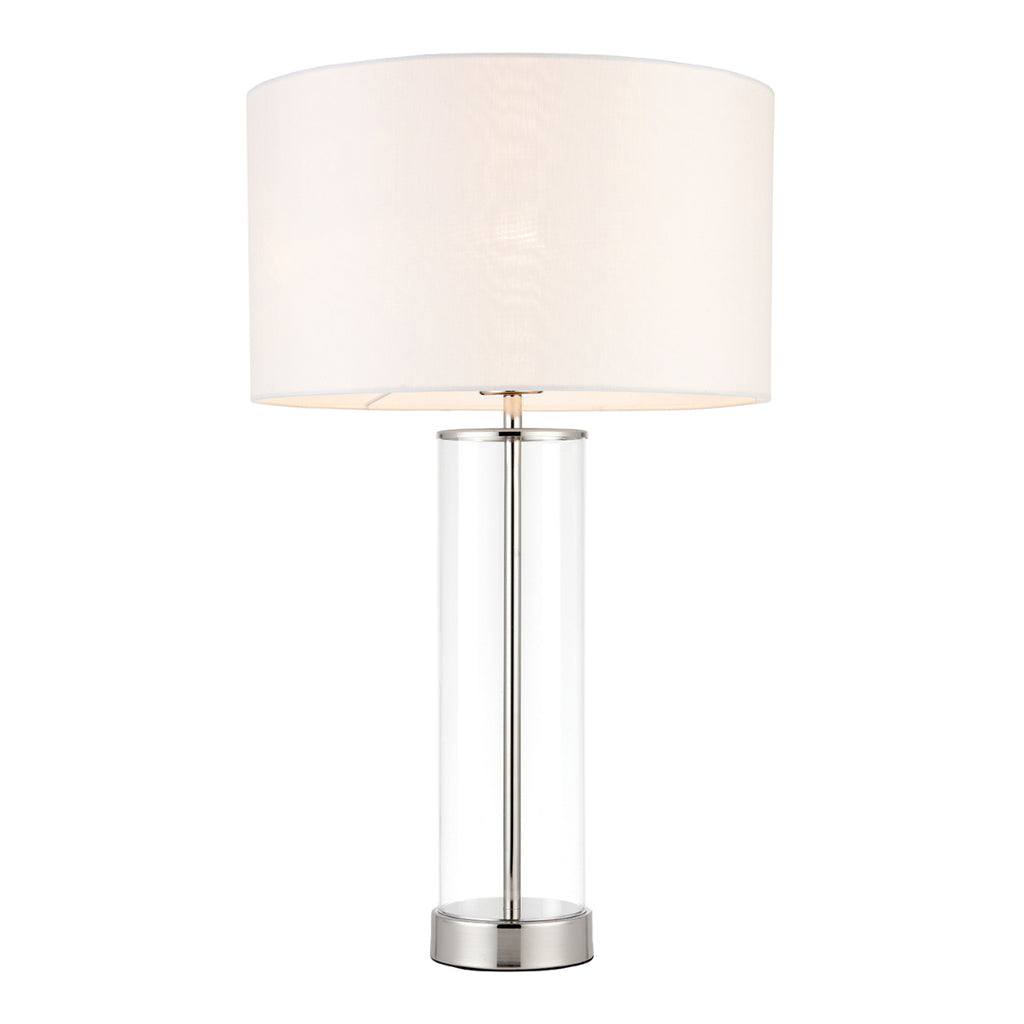 Endon Lighting 70600 Lessina Touch Table Lamp Bright Nickel Finish