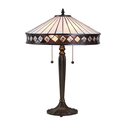 Fargo Medium Tiffany Table Lamp
