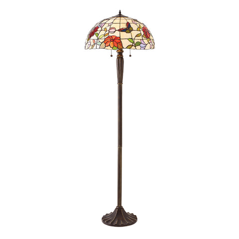 Butterfly Tiffany Floor Lamp